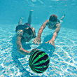 Pass, chase, intercept Watermelon Ball under water