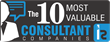 TOP Step Consulting Named One of The 10 Most Valuable Consulting Companies