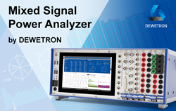 Precision Mixed Signal POWER ANALYZER for polyphase measurements