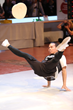 Winner of Freestyle Acrobatics Tusheng Huang