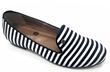 Stripe Ballet Flats