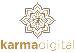 karma digital logo