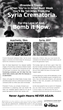 World Values Network Takes Out Full-Page Ad in WaPo Calling on President Trump to Bomb Syria Crematoria