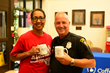 Julia Hudson and Officer Gary Owens of the Mobile Police Department attended a Coffee With a Cop  event on May 18.