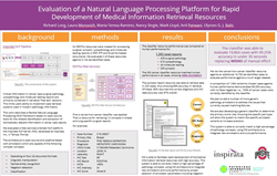 Scientific Poster of NLP system