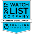 Designing Digitally, Inc. Selected for the Fifth Consecutive Year by Training Industry as an Outstanding Custom Content Development Company