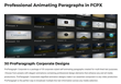 PFS Plugins - ProParagraph Corporate - Final Cut Effects