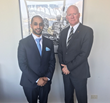 Ahmed Bin Sulayem with Martin Mileham CEO City Of Perth