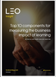 LEO launches a new insight on measuring the business impact of learning