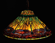 Lot 1099: Tiffany Studios Dragonfly chandelier, estimated at $100,000-150,000.