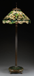 Lot 1108: Tiffany Studios Dogwood floor lamp, estimated at $100,000-150,000.