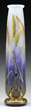 Lot 1516: Daum Nancy cameo and enamel Wheat vase, estimated at $15,000-20,000.