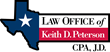Attorney Keith D. Peterson Helping Small Businesses Ease Collection Burdens