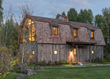Wyoming Guest Barn with Interiors by WRJ Design Receives Media Attention for Clean-lined Mix of Rustic and Contemporary Materials