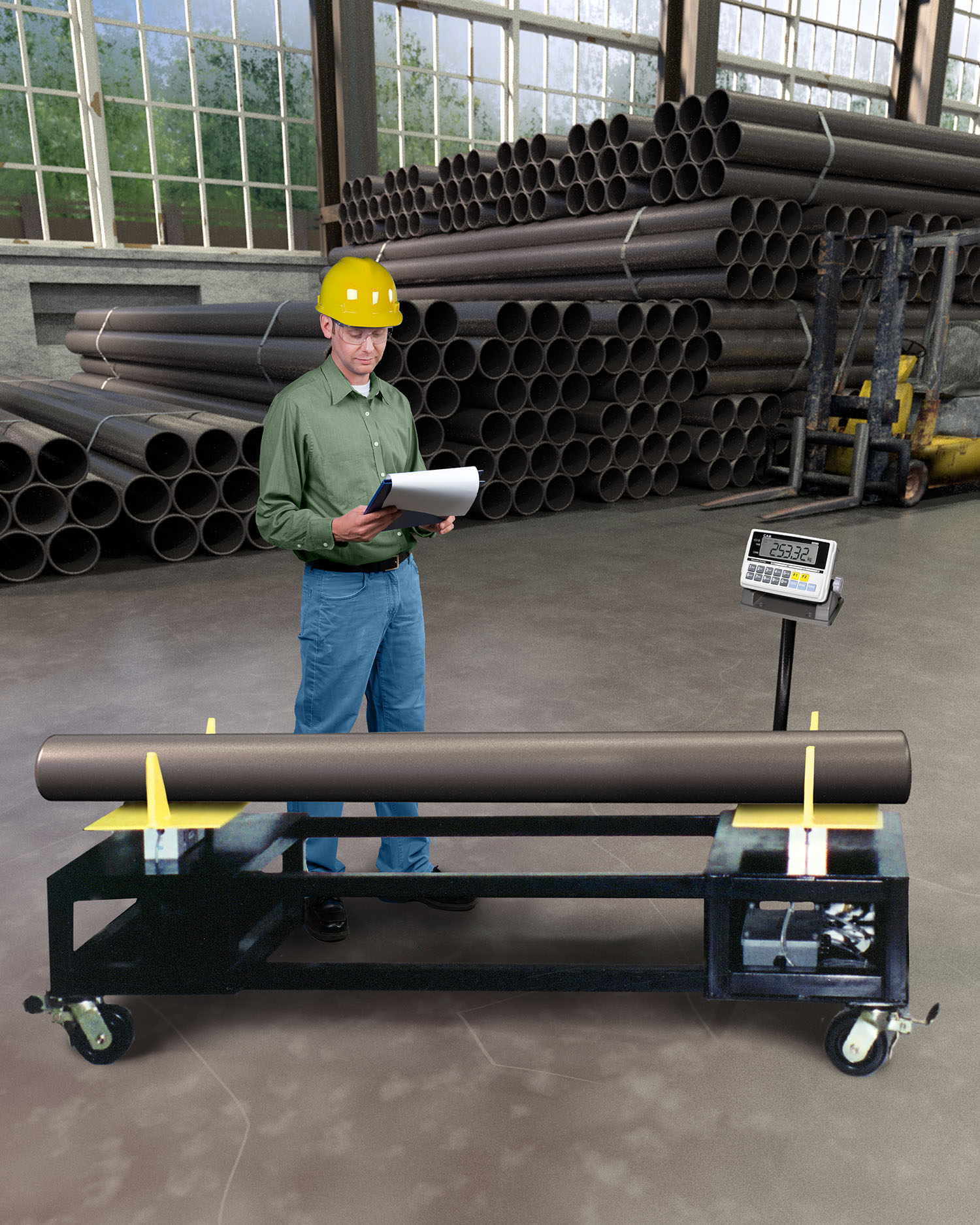 central pipe conxtech rack modular system addition california productivity conx