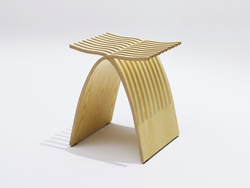 The Capelli Stool by Catalano Design