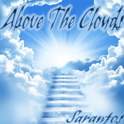 Sarantos song artwork Above The Clouds solo music artist Voice of Chicago new pop rock free release American Cancer Society Charity