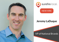 Surefire Local Adds Franchise Marketing Expert Jeremy LaDuque to Executive Team