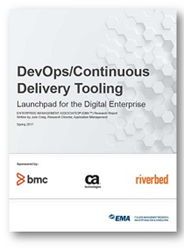 DevOpContinuous Delivery Tooling: Launchpad for the Digital Enterprise Research Report