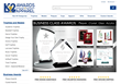 K2 Awards & Apparel Named Winner of Best Retailer Website Contest by the Awards & Personalization Association