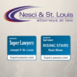 Tucson DUI Attorneys of Nesci & St. Louis, PLLC Named as 2017 Super Lawyers