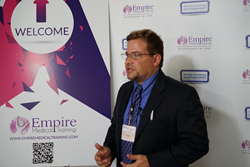 Dr Stephen Cosentino with Empire Medical Training