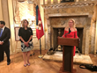 Acceptance Remarks by Honoree H.E. Vicki Downey, DGCHS, Lieutenant of the Equestrian Order of the Holy Sepulchre of Jerusalem, Eastern United States