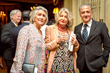 Mrs. Jane Maynard, Mrs. Cristina Grassi with Dionisio Cimarelli