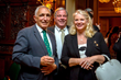 Savoy Foundation President  Joseph Sciame, Dr. William J. Caccese and Mrs. Andrea Caccese