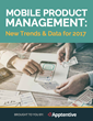 Apptentive Announces Release of Latest Report, Mobile Product Management: New Trends and Data for 2017