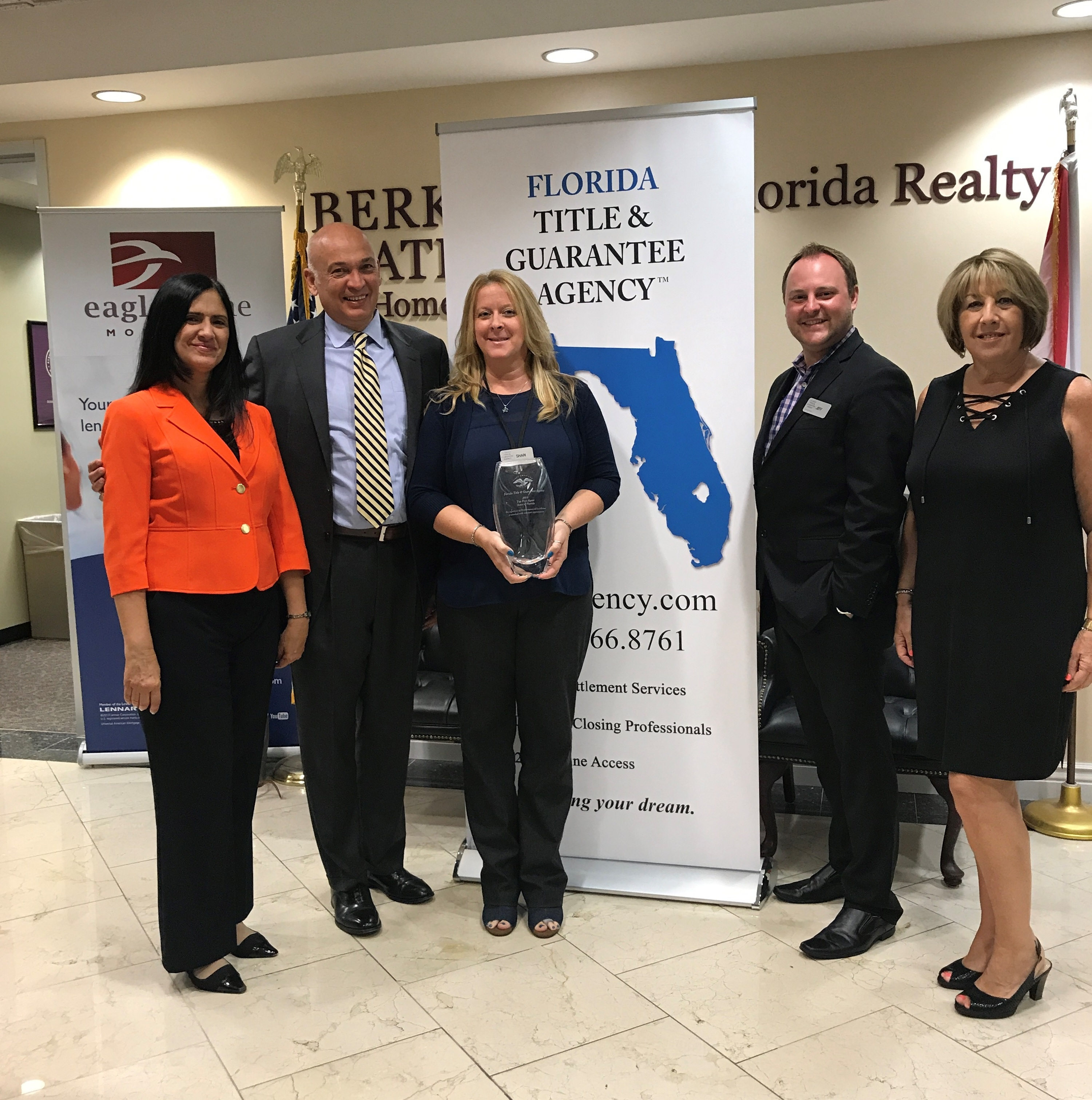 Florida Title & Guarantee Agency Receives Top 5 Award from ...