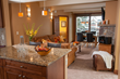 Antlers at Vail's commitment to service includes providing guest suites that include full kitchens, separate dining areas, living rooms and balconies.