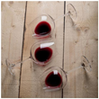 RÖD Wine Red Wine Glasses - Set of 3