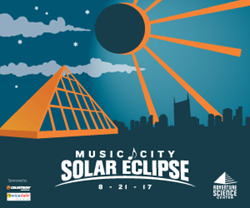Music City Solar Eclipse Festival Graphic