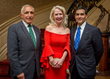 Savoy Foundation President and Event Vice Chair Joseph Sciame, Honoree H.E. Vicki Downey, DGCHS and Savoy Foundation Chairman of the Board Carl J. Morelli, Esq.