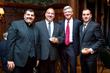 Rev. Robert Adamo, Angelo Ambrosino,  Bill O'Brien and Salvatore Deliteris