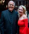 Monsignor John Kozar with H.E. Vicki Downey, DGCHS