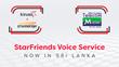 Kirusa & zMessenger Launch StarFriends Voice Service with Mobitel Sri Lanka