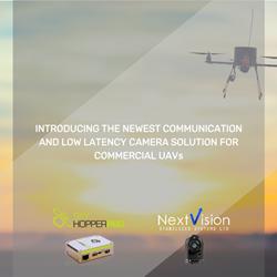 SkyHopper PRO UAV Data Link and NextVision lightweight dual channel camera