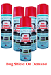 The Love Bug Solution™ is Now Bug Shield on Demand™ Popular Spray-on Bug Shield Now Available Worldwide