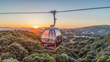 Aerial Gondola and Hilltop Restaurant Opening at Oakland Zoo's California Trail Expansion