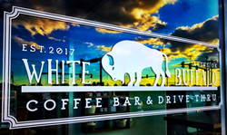 White Buffalo Coffee Bar in Altus Oklahoma