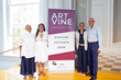 Art on the Vine 2016 panelists with founder Jessica Stafford Davis (center)