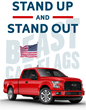 Beast Car Flags - The world's only car roof mounted flag system