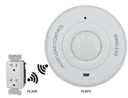 plug load control, plug load management, plug load occupancy sensor, power outlet control, motion sensor, occupancy sensor