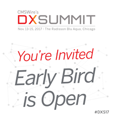 Early Bird Registration DX Summit 2017