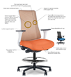 via seating Announces Game Changing Copper Infused Clinical Use Task Chair