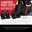 free gift for seat cover in FH Group's thursday