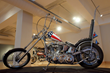 Replica Captain America chopper from Ed Rich, American Classic Motorcycle Museum. Photo by Lynn H. Donovan.
