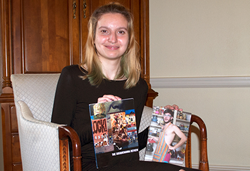 Danielle Pelletier's work was published in two national journals.